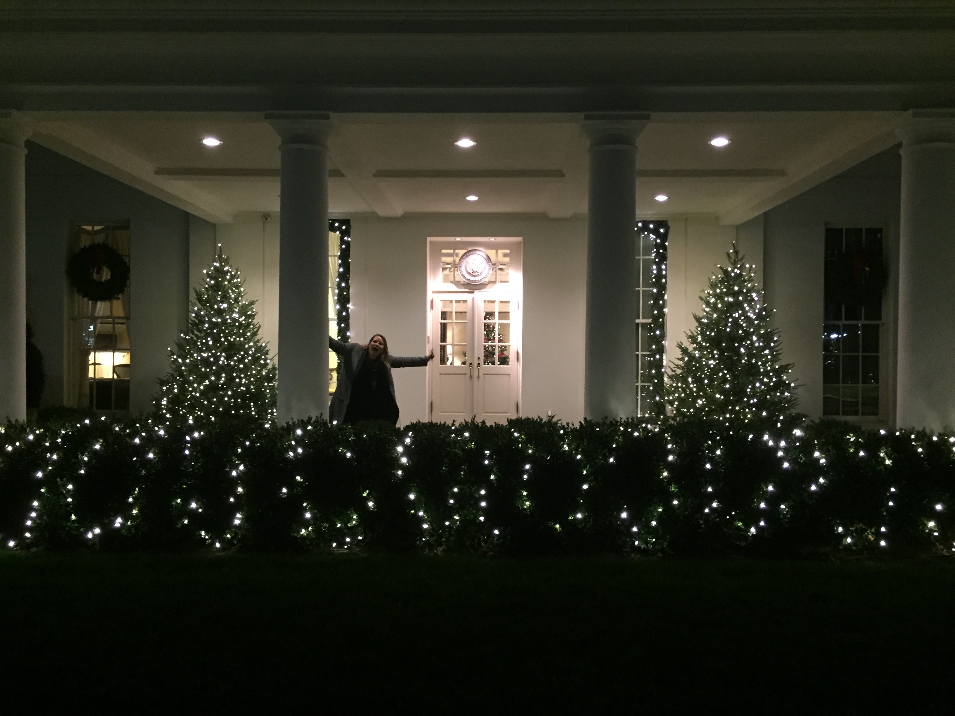 West Wing at Christmas Time