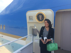 Nita and Air Force One