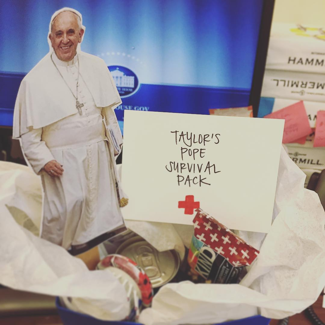 Pope Visit Survival Pack
