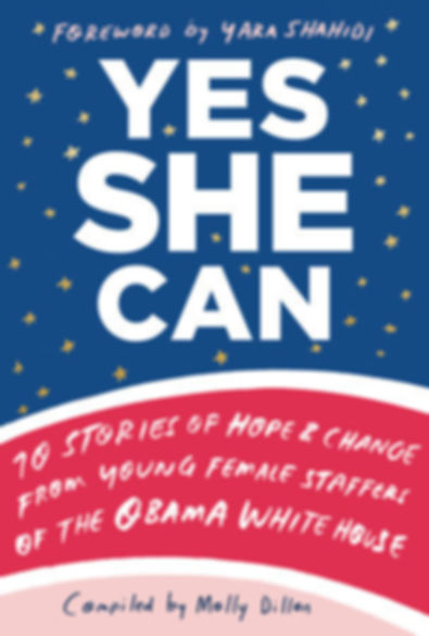 Yes She Can Book Cover