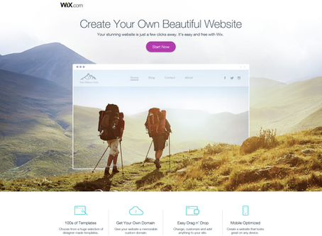 Create a Stunning Website with Wix: Get Started Today Free! No Time Constraints!