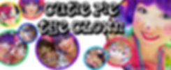 Banner of various Cutie Pie ad face panting images