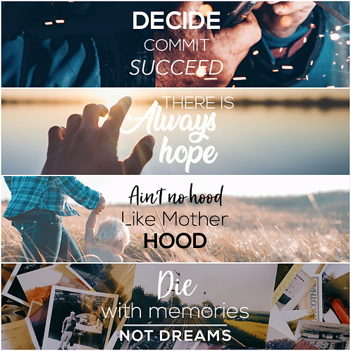 Motivational Facebook Covers