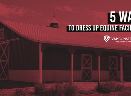 Design Details - 5 Ways to Dress up Equine Facilities