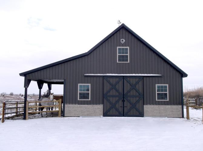Rodewald Equine Barn