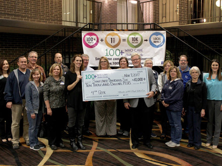 Sunflower Diversified Services Wins Over $10,000 from 100 People Who Care