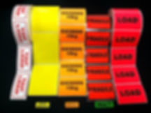 Transport and logistics labels, warehouse labels, freight labels, barcode labels, tracking labels, weight labels and haz-chem labels