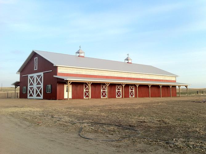 Buchanan Horse Barn