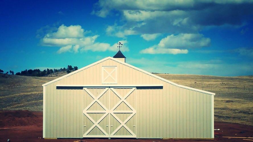 White Family Horse Barn