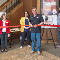 Great Bend Chamber of Commerce Ribbon Cutting for Kansas CPR Training, Owned by Dean Nuss
