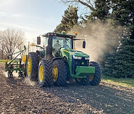 Team members testing one of our industry-leading products at a research farm