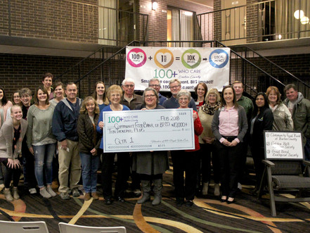 Food Bank of Barton County Wins Over $10,000 from 100+ People Who Care Members