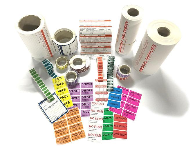 Pharmacy labels, health care labels, pathology labels, A4 laser sheets labels, medicine labels, patient information labels, medical labels, test tube labels