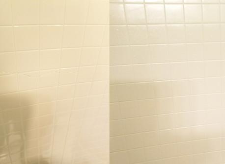 Fiberglass Shower Crack