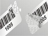 custom asset stickers, custom security stickers, custom barcode stickers, custom barcode labels