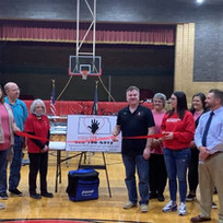 Hoisington Chamber Ribbon Cutting for Kansas CPR Training, Owned by Dean Nuss