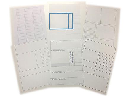 A4 sheets of labels, A4 Laser sheets, laser printable sheets of labels, labels for laser printers