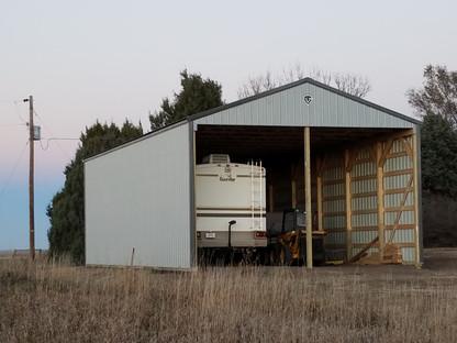 Hinz 3-Sided RV Storage