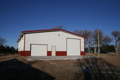 Bashaw Backyard Steel Building
