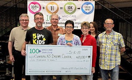 Central Kansas Dream Center Receives $10,400 in Donations from 100 People Who Care