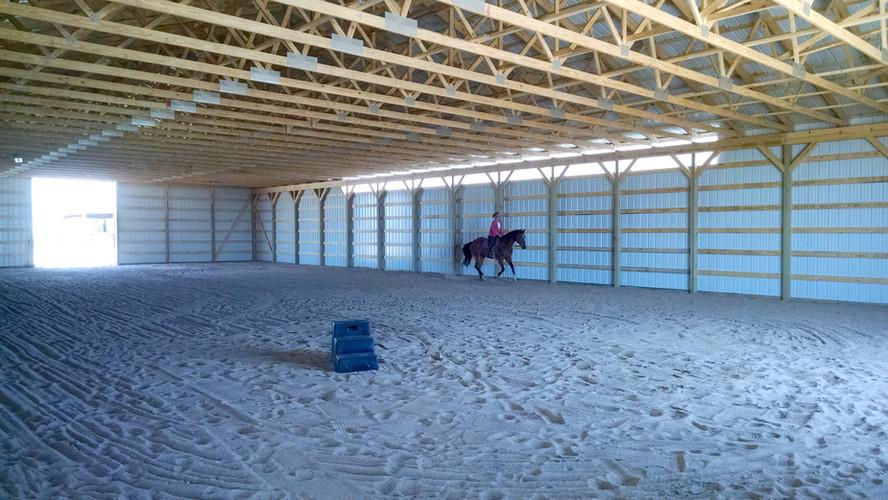 Biswurm Horse Barn Interior