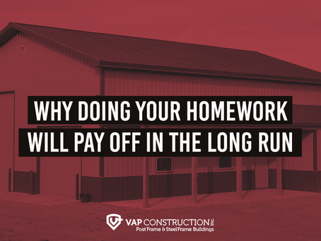 Why Doing Your Homework Will Pay in the Long Run
