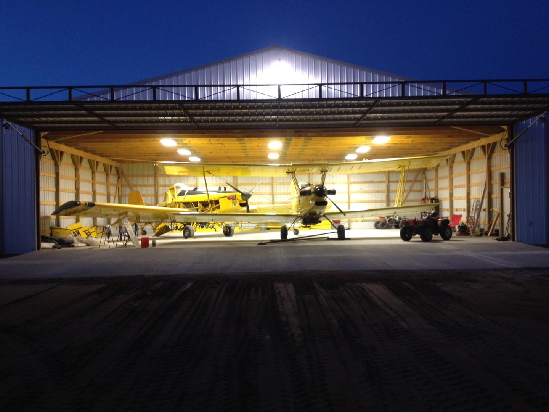 King Airplane Hangar