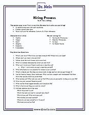 Free Download Hiring Guide for Interviewing Employees Dr. Nels Lindberg