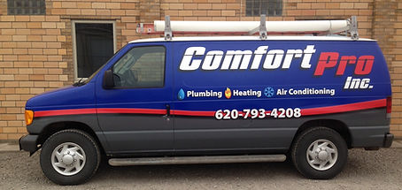 Comfort Pro Inc Great Bend Larned Russell St John Kansas