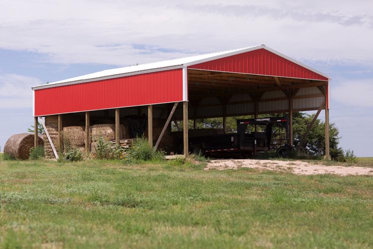 Pletcher Hay Storage