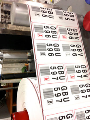 Highly durable tags and labels barcodes for mining and exploration testing