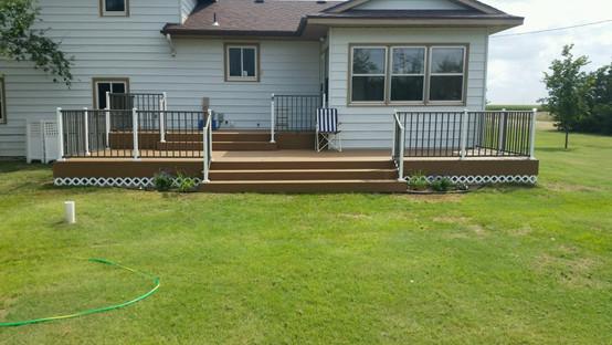 Fikan Backyard Deck