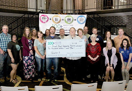 Great Bend Community Theatre Wins Over $10,000 from Members of 100+ People Who Care