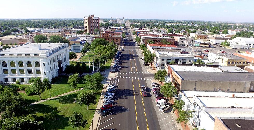 Downtown Great Bend Aerial.jpg