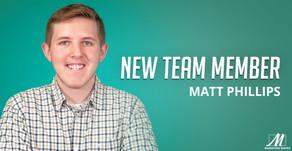 Marketing Maven Welcomes Matt Phillips, Design & Digital Media Specialist
