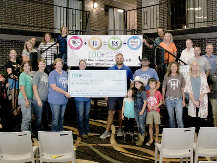Healing Hearts Ranch Wins $10,700 from Members of 100+ People Who Care