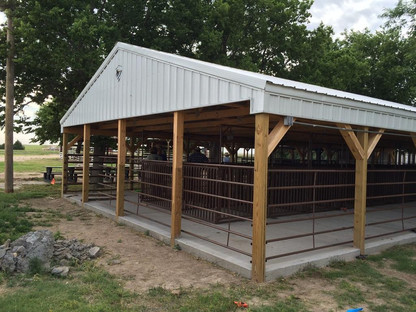 Wallace County Fair Show Barn