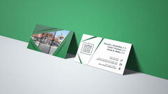 10th Street Eyecare Business Card Design
