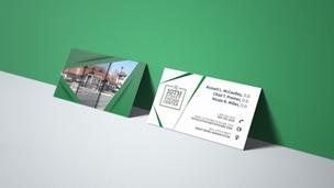 10th Street Eyecare Business Card Design