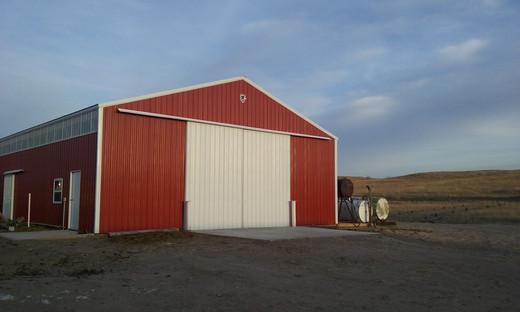 Wenzel Farm Equipment Storage