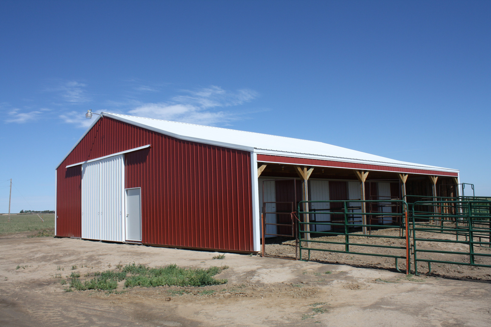 Cullen Horse Barn with Corrals