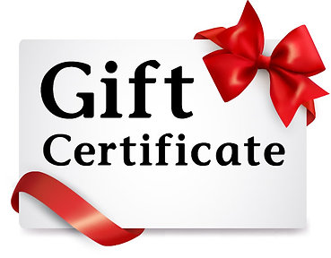 Gift Certificate ($50 Increments)