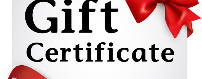 Deep Cleaning Gift Certificate