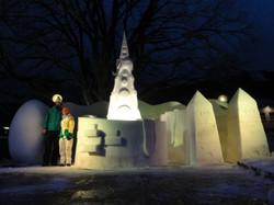 Schnee- und Eiscafé für ARt on Snow