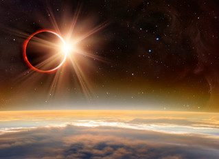 Live from the Heart. Total Solar Eclipse, New Moon in Leo