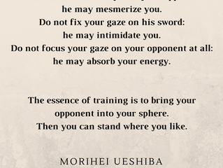 Aikido and Psychotherapy - or how to manage your demons