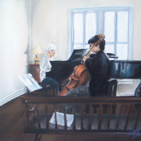 The Cellist at Rehearsal