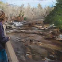 Lauren at the River