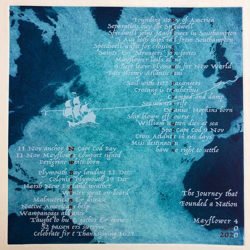 Tori McLean's Mayflower 400 Print