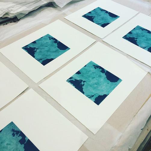 Tori McLean's Initial Prints